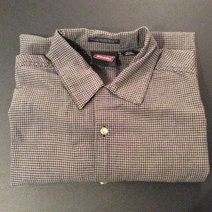 5 for $25 Mens Dickies Button Down Check Shirt XL
